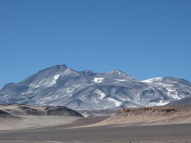 highest volcano