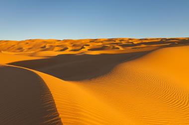 Largest Desert in the World  Desert Map