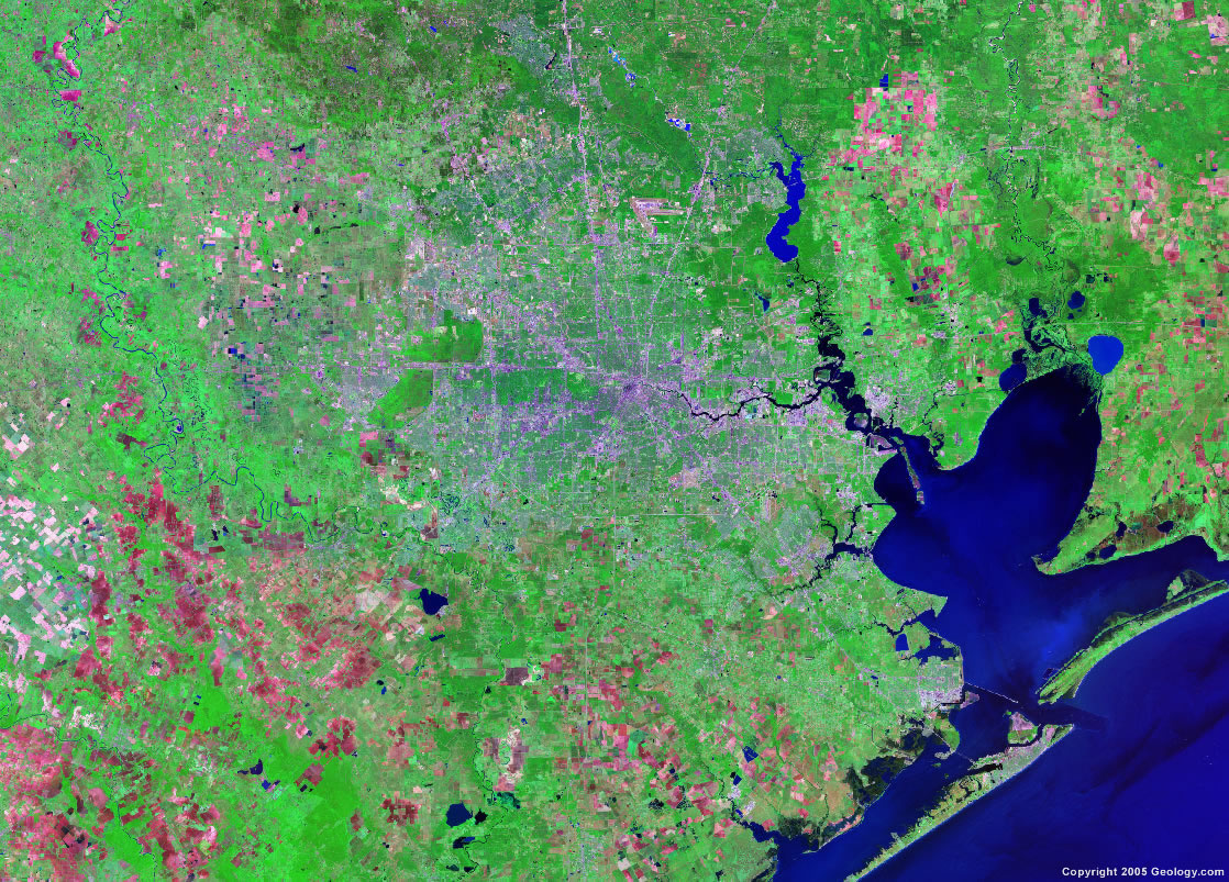 Satellite Images of United States Cities Landsat