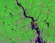 Connecticut Satellite Image