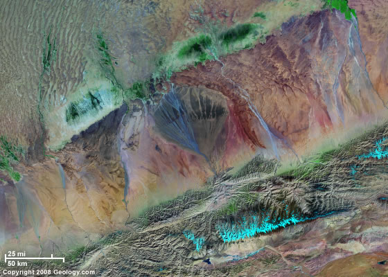 Alluvial Fans And Deltas