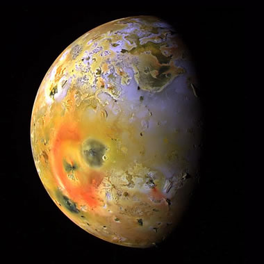 volcanoes on Io