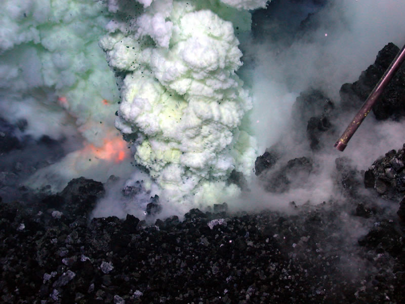 Spectacular Volcanic Eruption Photos from NASA, USGS and NOAA Pacific Ocean Underwater Volcanoes