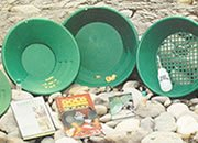 Gold Pans and Panning Kits