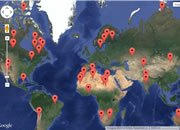 Asteroid Impact Map