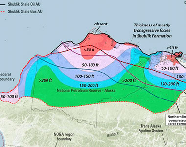 Oil and natural gas shales of alaskas arctic north slope publicscrutiny Gallery