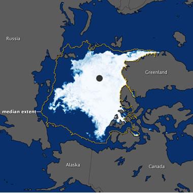 2011 Arctic Ocean sea ice minimum