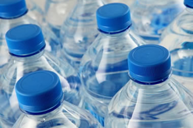 single-serving water bottles