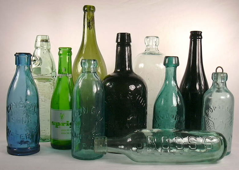 Bottled Water - Many of the brands have a geological source.