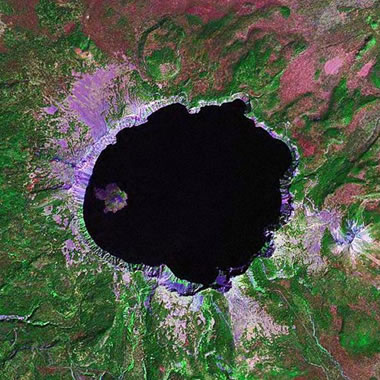 Caldera: Crater Formed by Volcanic Collapse or Explosion