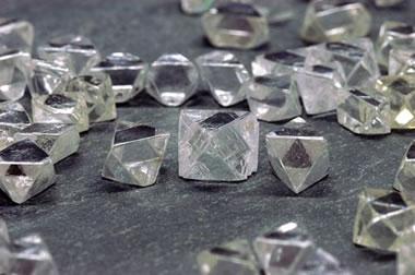 diamonds from the Diavik Mine
