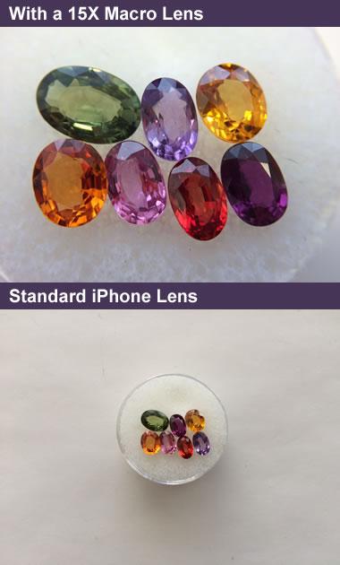 macro lens photos African sapphire