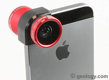 olloclip wide angle and fisheye lenses