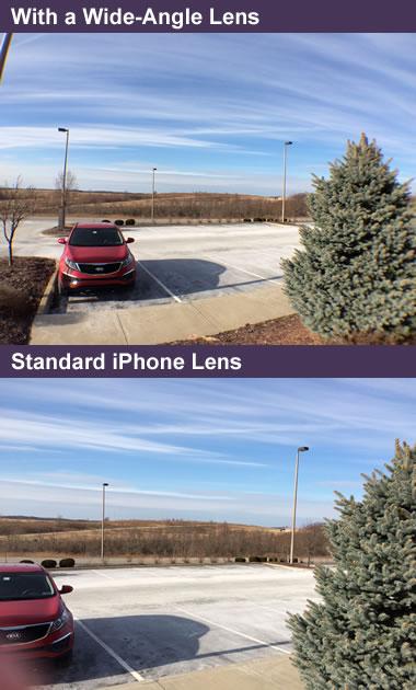 wide-angle lens comparison