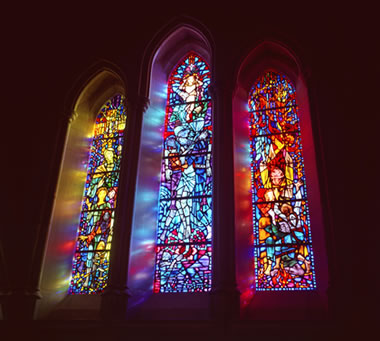 What Causes Color in Stained and Colored Glass?