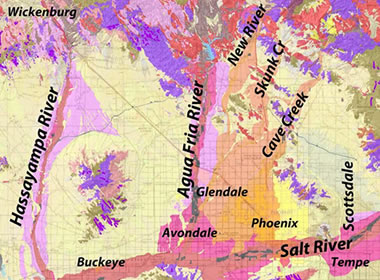 aggregates map