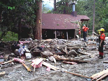 Forest Falls debris flow