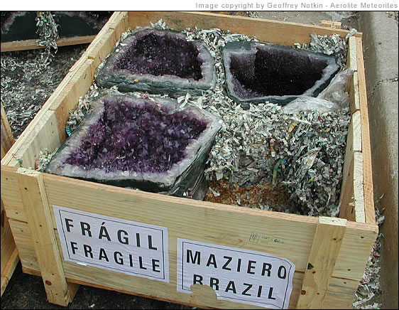 crate of geodes