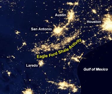 Eagle Ford lights