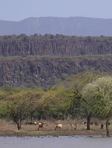 East Africa Rift Scarps