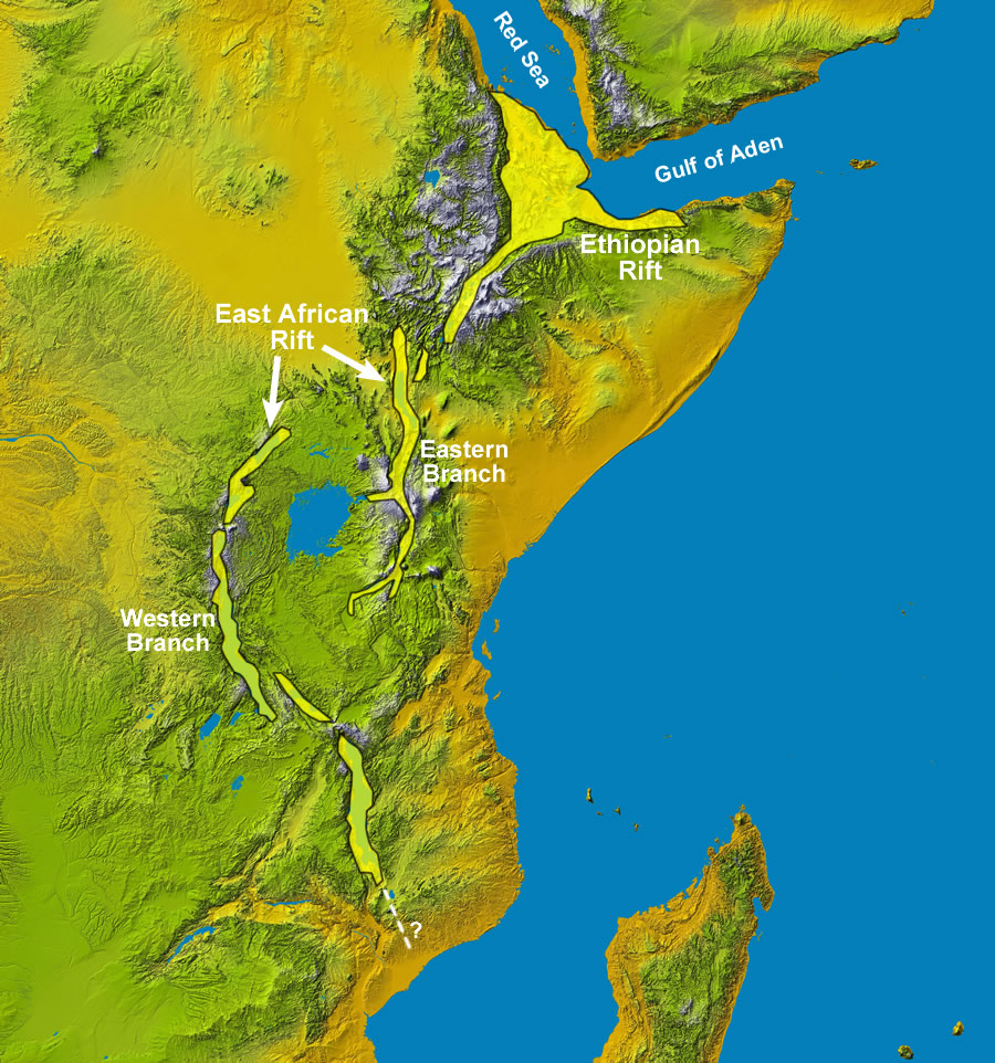 East Africa's Great Rift Valley: A Complex Rift System