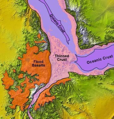 East Africa S Great Rift Valley A Complex Rift System