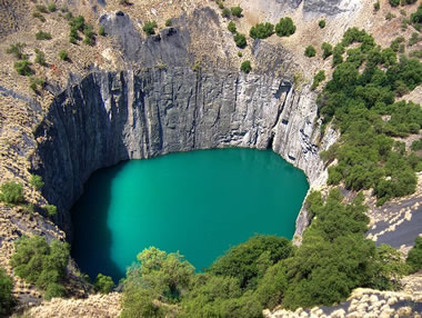 The Big Hole diamond mine