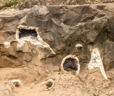geodes in basalt