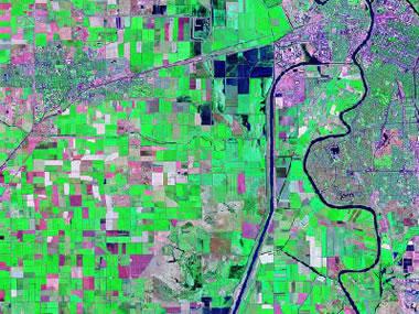 landsat image