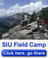 SIU geology field camp