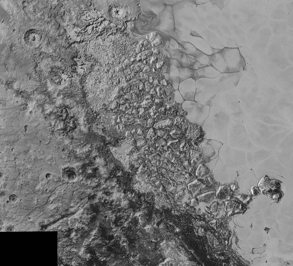 The Geology of Pluto - Detailed Images of Pluto