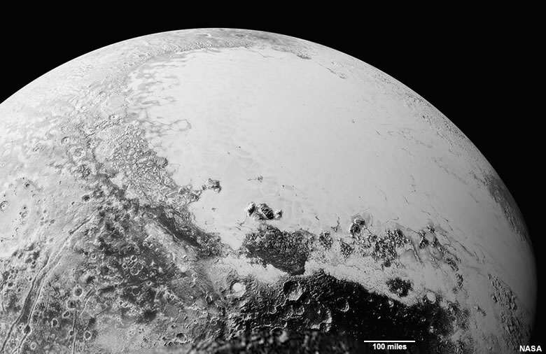 detailed image of Pluto