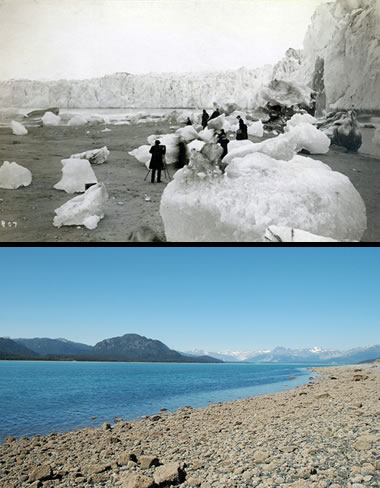 Muir Glacier retreat