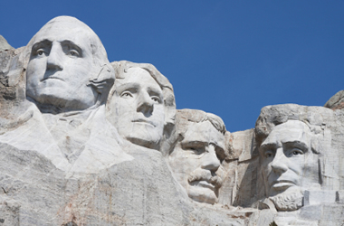 Granite Mount Rushmore