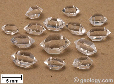 Herkimer Diamonds from Afghanistan