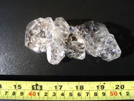 diamond crystal cluster