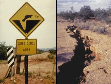 Arizona Earth fissure