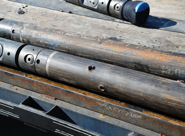 perforation gun used for hydraulic fracturing