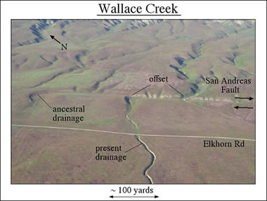 San Andreas Fault Line Picture