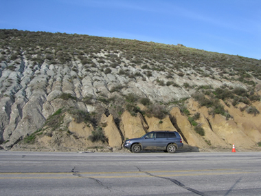 San Andreas Fault Zone Picture
