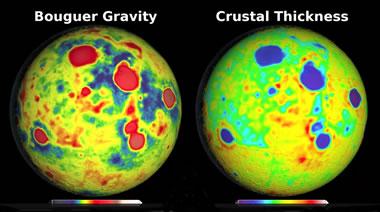 Bouguer gravity map