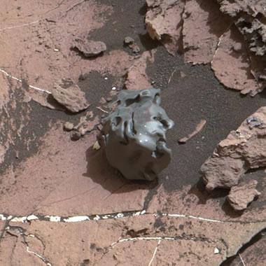 Mars meteorite: Egg Rock