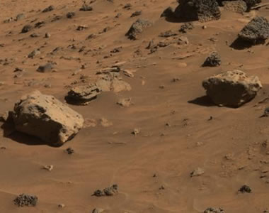 Mars meteorite: Allan Hills