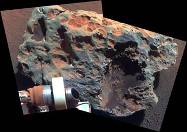 Mars meteorite: Block Island