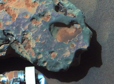 Mars meteorite: Oileán Ruaidh