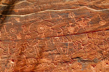 These are Native American Native American Petroglyphs Printable
