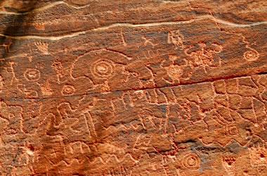 Montezuma Castle petroglyphs