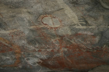 Pictographs in Mexico