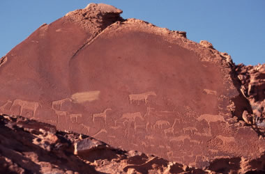 Namibia petroglyphs