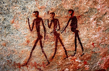 Pictographs in Namibia